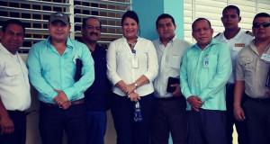 Autoridades Penitenciaria Reciben Visita delegación Guatemala
