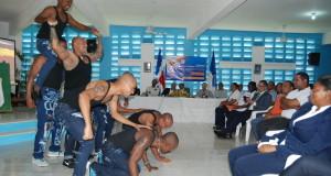 Inauguración del Programa Solidaridad y Justicia CCR-17 Najayo Hombres.