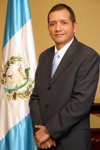 Francisco Rivas Lara, ministro de gobernacion de Guatemala.