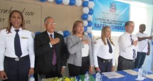 Procuraduría General de la Republica  apertura  año escolar con acto en Rafey Santiago