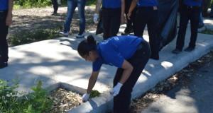 Califica como sin precedente y trascendental Jornada de Limpieza de Ríos y Playas encabezada por Brigada del NMGP y aspirantes a VTP de Guatemala
