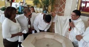 Coordinador del Nuevo Modelo encabeza bautizo y confirmación de internos