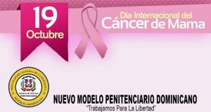Centros de Corrección y Rehabilitación se unen en la lucha contra el cáncer de mama