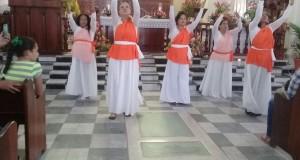 Usuarias y servidores penitenciarios participan en eucaristía en Moca