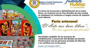 Exitosa Feria Artesanal del CCR La Isleta, Moca