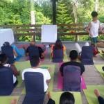 Imparten taller Vivir sin estrés a servidores penitenciarios