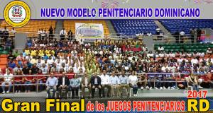 Gran Final de los Juegos Penitenciarios RD 2017