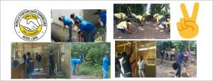 Privados de libertad realizan labor comunitaria por el Día Mundial del Hábitat
